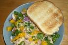 Салат из тунца без майонеза
