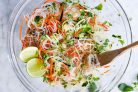 Вьетнамский салат с лапшой