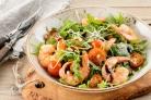 Салат Руккола с креветками