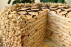 Торт Медовик на заварном тесте