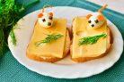 Бутерброды Мышки на сыре