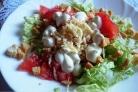 Вегетарианский салат Цезарь