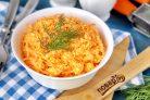 Салат Рыжик с морковью и сыром