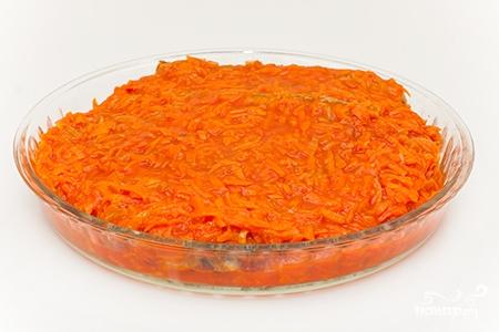 Судак под маринадом из моркови