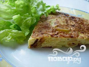 Картофельная тортилла (испанский омлет)