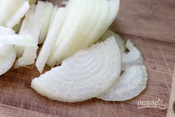 Рыбный салат из отварной рыбы