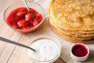 Простой рецепт тонких блинов на молоке
