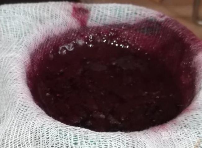 Бекмес из шелковицы