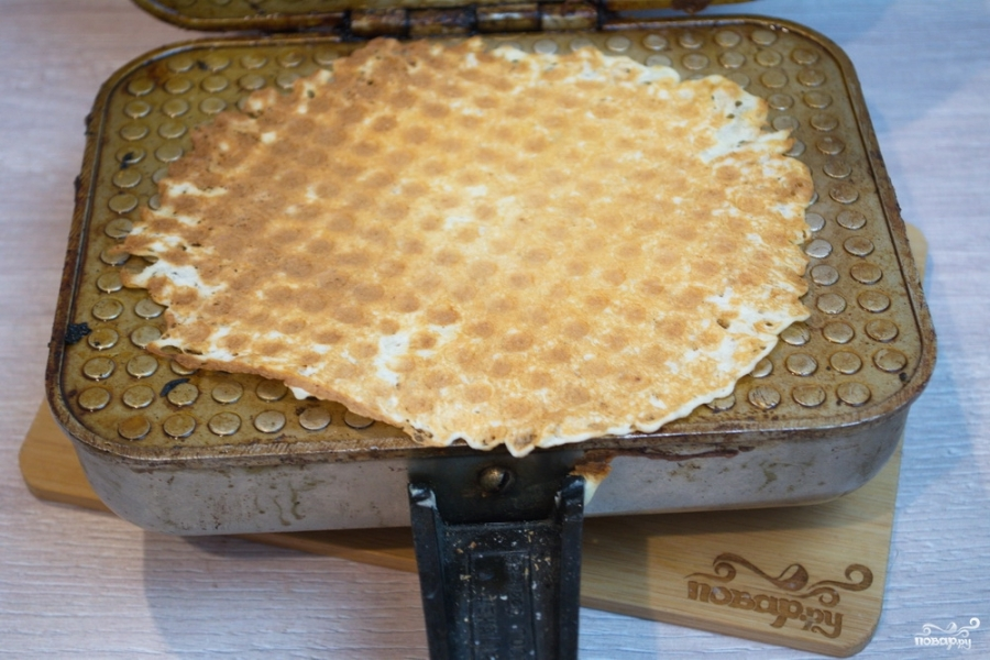 Рецепт приготовления вафель в вафельнице с фото