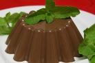 Желе шоколадное