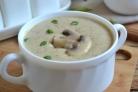 Грибной крем-суп из шампиньонов