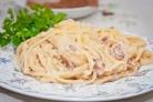 Паста Карбонара со свининой