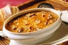 Куриный суп с опятами