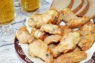 Куриные крылышки к пиву Вкусные