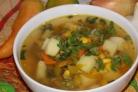 Суп из консервированной кукурузы