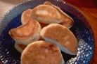 Пирожки с повидлом на сковороде
