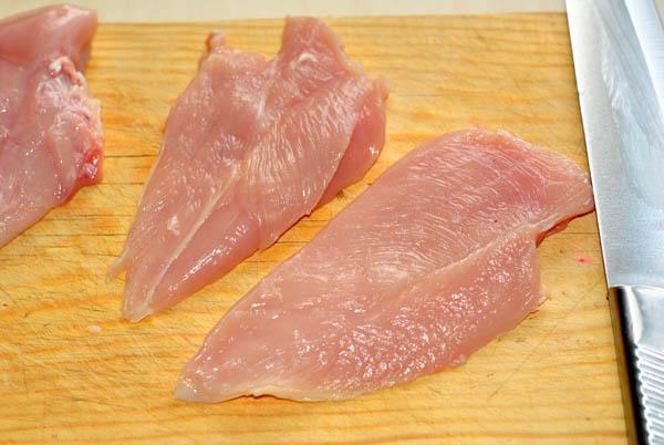 как приготовить стейк из грудинки курицы