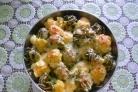 Цветная капуста с брокколи запеченная с сыром