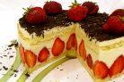 """Клубничный торт """"Фрезье"""""""