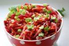 Салат из моркови и свеклы