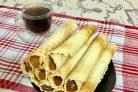Вафельные трубочки со сладкой начинкой