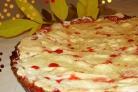 Брусничный тарт