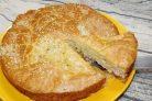 Заливной пирог с картошкой и фаршем