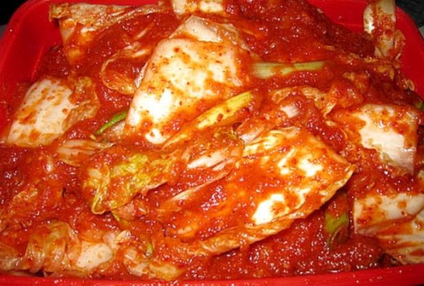 Маринованная китайская капуста