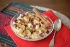 Фруктовый салат со сгущенкой