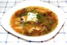Суп из замороженных опят