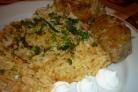 Рис с котлетами в мультиварке