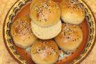 Амарантовые булочки для бургеров