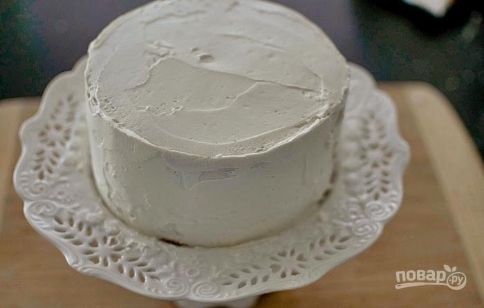 Кокосовый торт с ромом