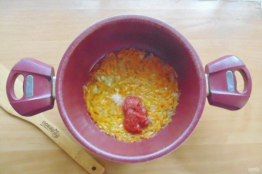 Морской окунь в томатном соусе