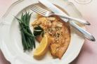 Рыба с лимоном и миндалем