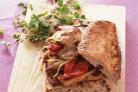 Сэндвичи с тофу и болгарским перцем