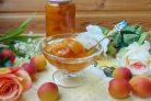 Абрикосовое варенье с ванилью