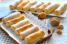 Печенье Сигареты с орехами
