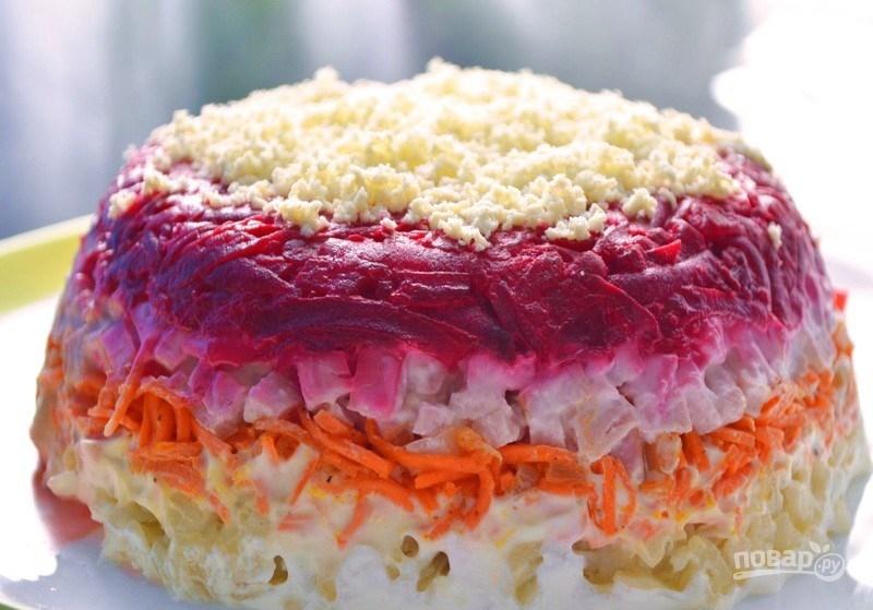 Салат (свекла, морковь)