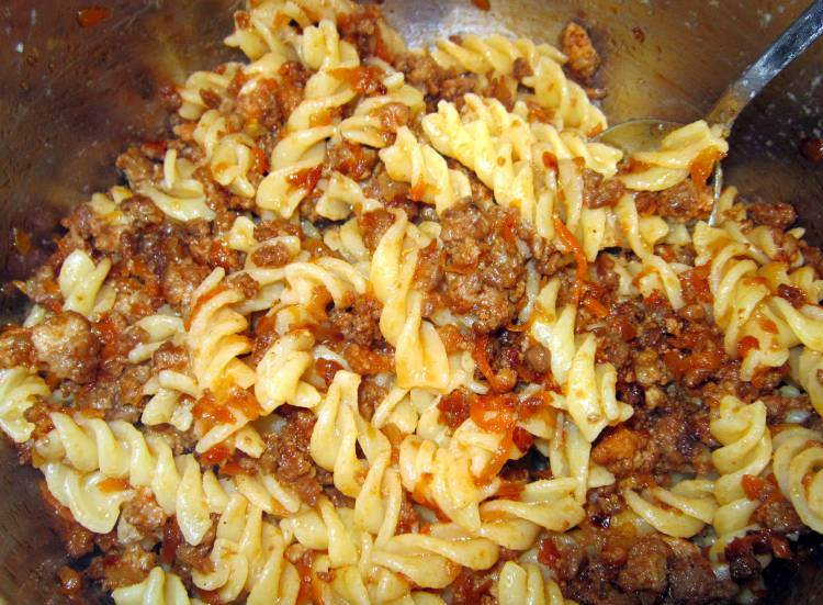 макароны с фаршем рецепты с фото