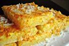 Лимонно-кокосовый пирог