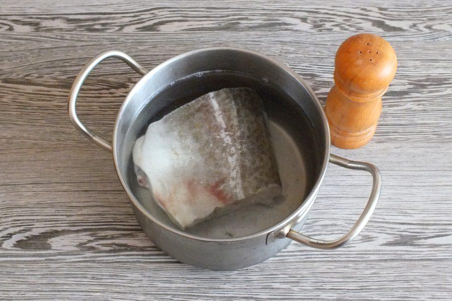 Рисовый салат с треской