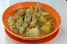 Суп из куриных лапок