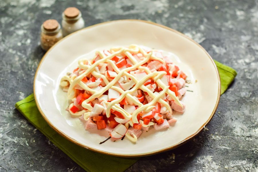 "Салат ""Вкуснятина"" по-итальянски"