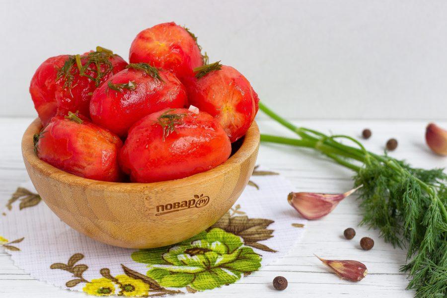 таком случае помидоры быстрого приготовления рецепт с фото пыльной