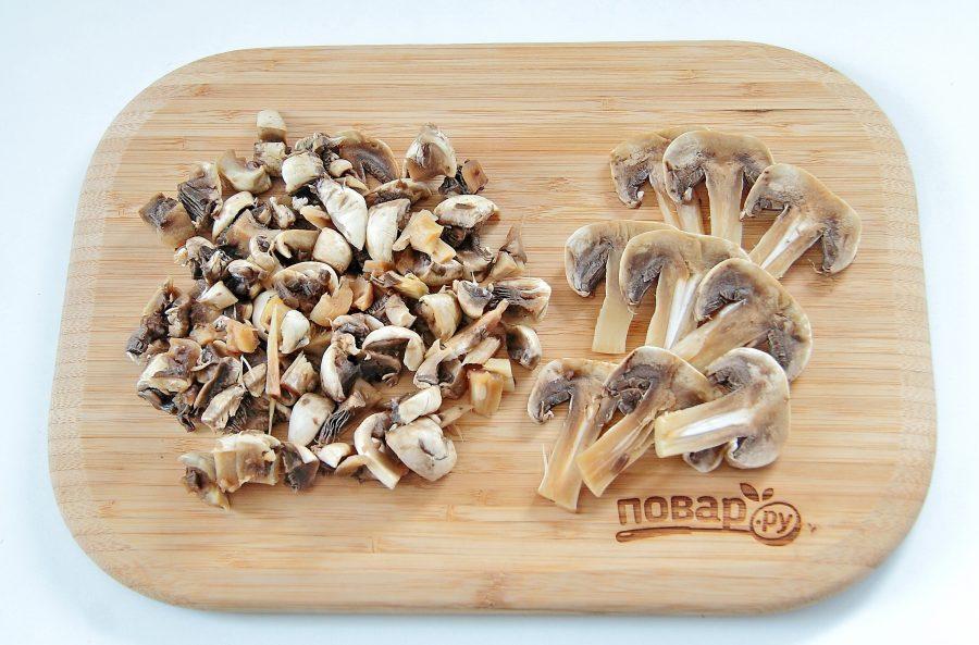 Кабачки, фаршированные булгуром и грибами