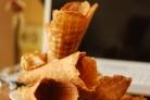 Вафельные рожки для мороженого