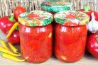 Перец ротонда в томатном соусе
