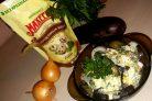 Лучший рецепт салата с баклажанами, яйцом и майонезом