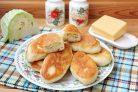 Пирожки с капустой и сыром